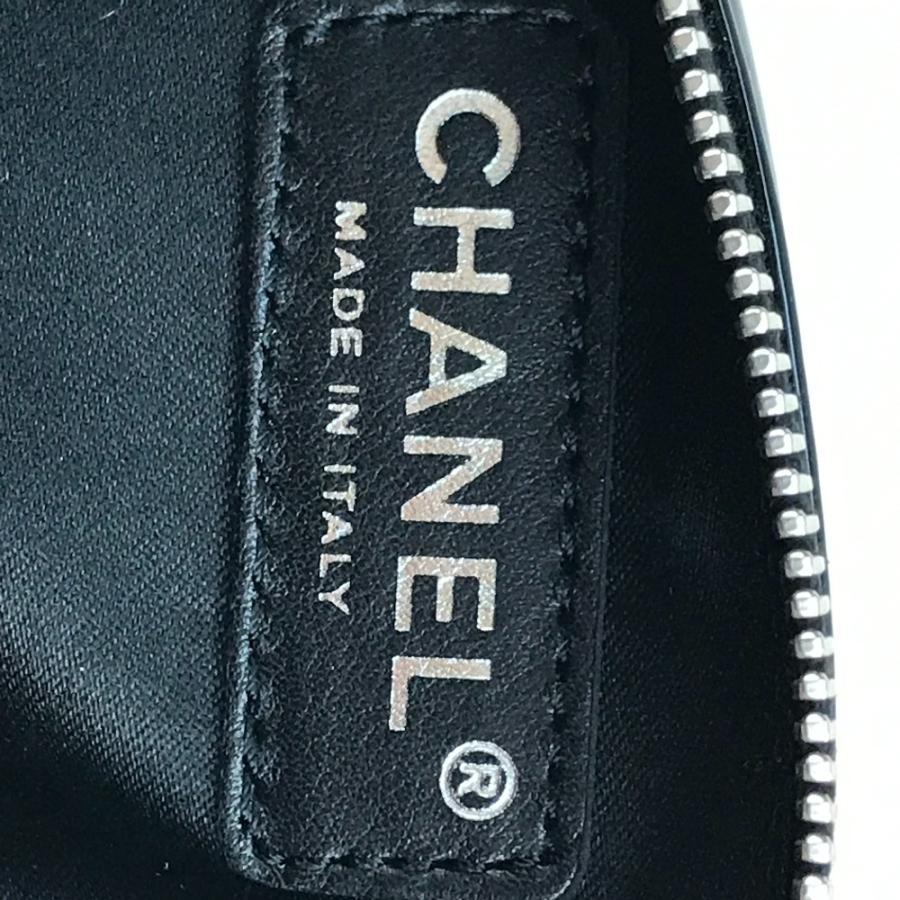 CHANEL シャネル カメリア CC ココマーク ペンケース ブラック レディース 【中古】|reference|08