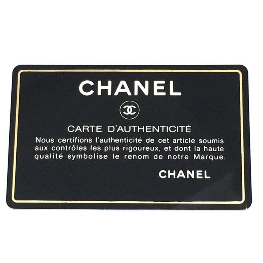 CHANEL シャネル 2WAY チェーンショルダー Vステッチ CCココマーク ショルダーバッグ ブラック レディース 【中古】|reference|11