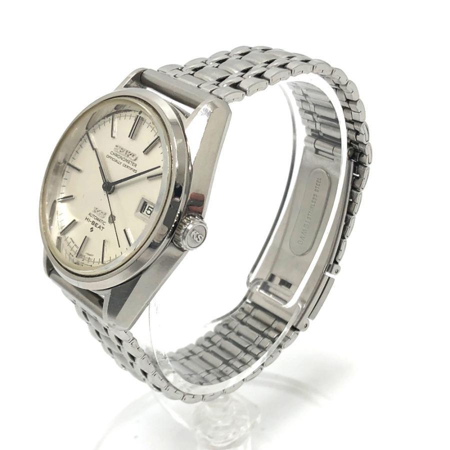 SEIKO セイコー 5625-7040 キングセイコー クロノメーター 腕時計 シルバー メンズ 【中古】|reference|03