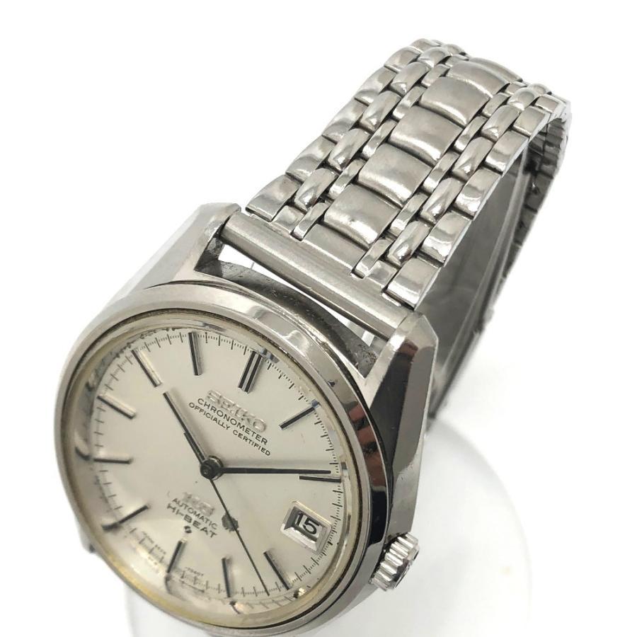SEIKO セイコー 5625-7040 キングセイコー クロノメーター 腕時計 シルバー メンズ 【中古】|reference|04
