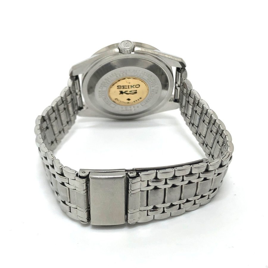SEIKO セイコー 5625-7040 キングセイコー クロノメーター 腕時計 シルバー メンズ 【中古】|reference|05