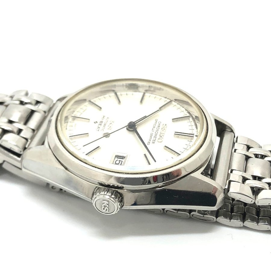 SEIKO セイコー 5625-7040 キングセイコー クロノメーター 腕時計 シルバー メンズ 【中古】|reference|08