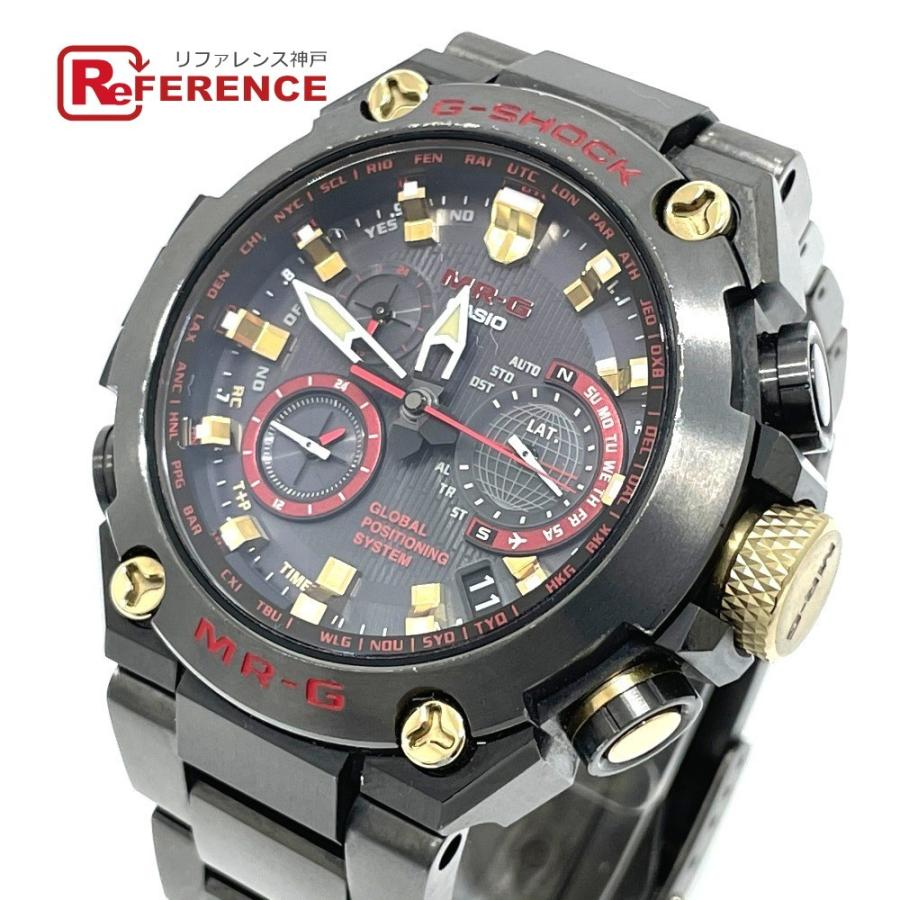 CASIO カシオ 1000B-1A4JR MR-G Gショック 腕時計 ブラック ブラック系 メンズ 【中古】|reference