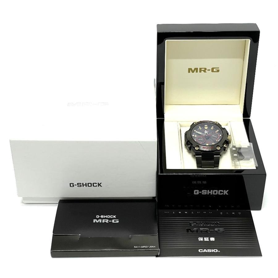 CASIO カシオ 1000B-1A4JR MR-G Gショック 腕時計 ブラック ブラック系 メンズ 【中古】|reference|09