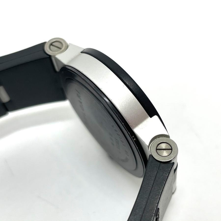 BVLGARI ブルガリ AL29TA アルミニウム デイト 腕時計 シルバー×ブラック レディース 【中古】 reference 11