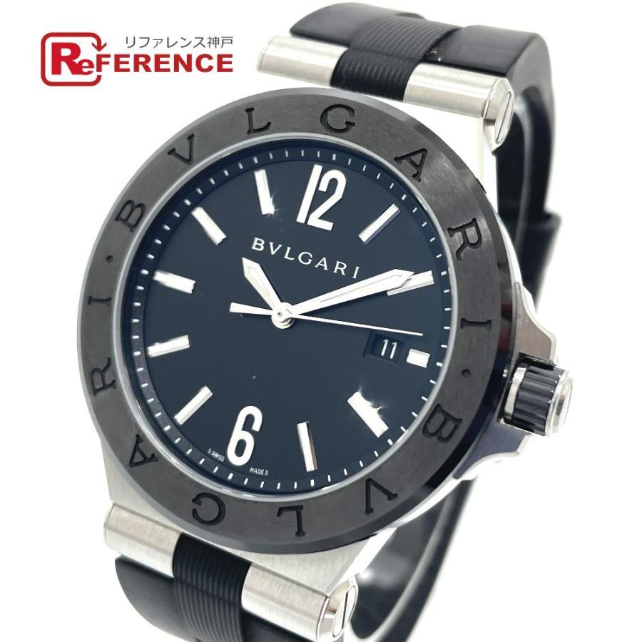 BVLGARI ブルガリ DG42BSCVD ディアゴノ 腕時計 シルバー メンズ 【中古】|reference
