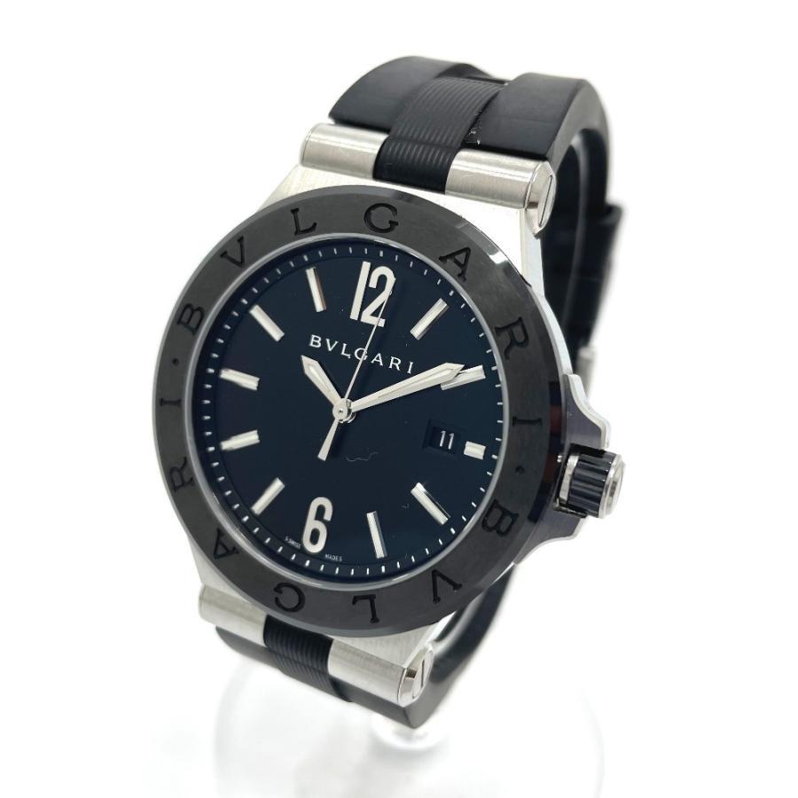 BVLGARI ブルガリ DG42BSCVD ディアゴノ 腕時計 シルバー メンズ 【中古】|reference|02