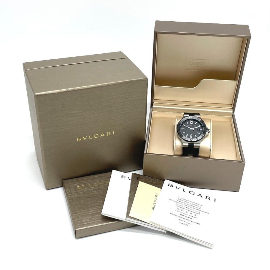 BVLGARI ブルガリ DG42BSCVD ディアゴノ 腕時計 シルバー メンズ 【中古】|reference|11