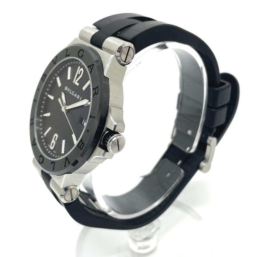 BVLGARI ブルガリ DG42BSCVD ディアゴノ 腕時計 シルバー メンズ 【中古】|reference|03