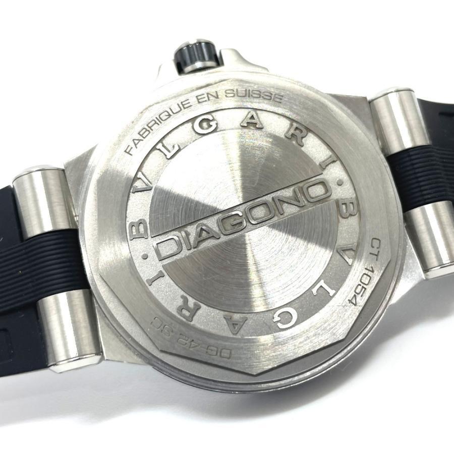 BVLGARI ブルガリ DG42BSCVD ディアゴノ 腕時計 シルバー メンズ 【中古】|reference|05