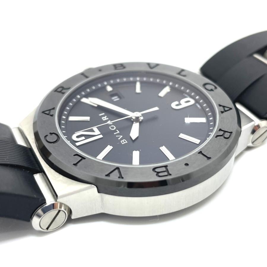 BVLGARI ブルガリ DG42BSCVD ディアゴノ 腕時計 シルバー メンズ 【中古】|reference|08