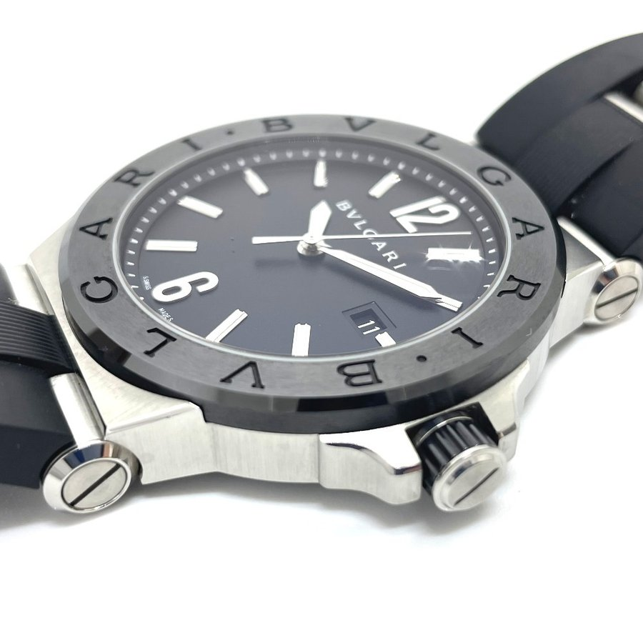 BVLGARI ブルガリ DG42BSCVD ディアゴノ 腕時計 シルバー メンズ 【中古】|reference|09