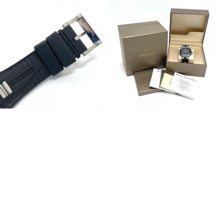 BVLGARI ブルガリ DG42BSCVD ディアゴノ 腕時計 シルバー メンズ 【中古】|reference|10