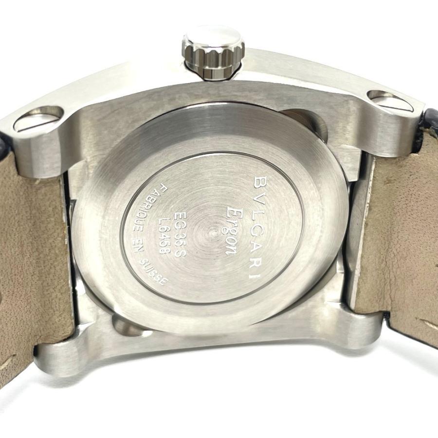 BVLGARI ブルガリ EG35S エルゴン デイト 腕時計 シルバー ボーイズ 【中古】|reference|06