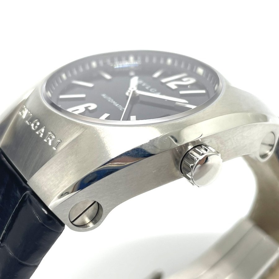 BVLGARI ブルガリ EG35S エルゴン デイト 腕時計 シルバー ボーイズ 【中古】|reference|08
