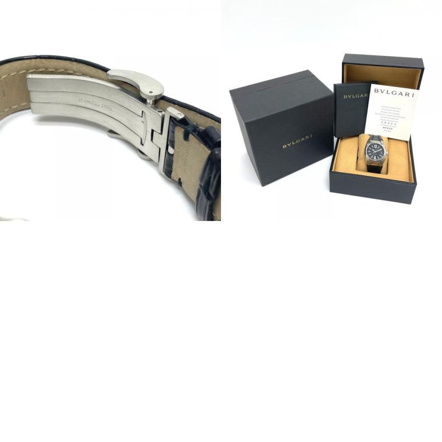 BVLGARI ブルガリ EG35S エルゴン デイト 腕時計 シルバー ボーイズ 【中古】|reference|10