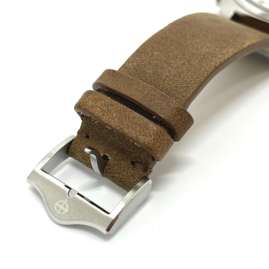 ZODIAC ゾディアック ZO9603 グランドラリー デイト クロノグラフ  腕時計 シルバー メンズ  新品同様【中古】|reference|06
