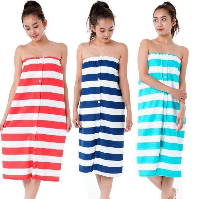 買収 カリフォルニアショア ラップタオル 巻きタオル 数量は多 フリーサイズ 大人用 ロング丈