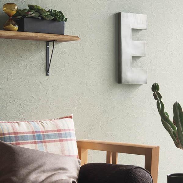 壁紙 シール壁紙 貼ってはがせる はがせる壁紙RILM 93cm幅オーダーカット 151 漆喰調のグレーベージュ 返品・交換不可 reform-myhome 02