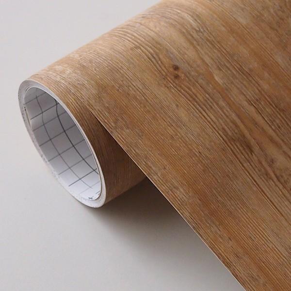 壁紙 シール壁紙 貼ってはがせる はがせる壁紙RILM 93cm幅オーダーカット 305 木目柄パインアッシュ 返品・交換不可 reform-myhome 04