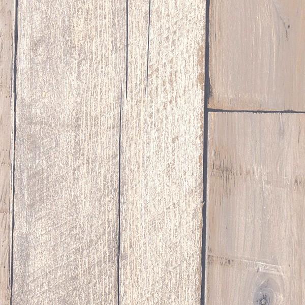 壁紙 シール壁紙 貼ってはがせる はがせる壁紙RILM 93cm幅オーダーカット 306 木目柄ベージュフェイドウッド 返品・交換不可 reform-myhome 03
