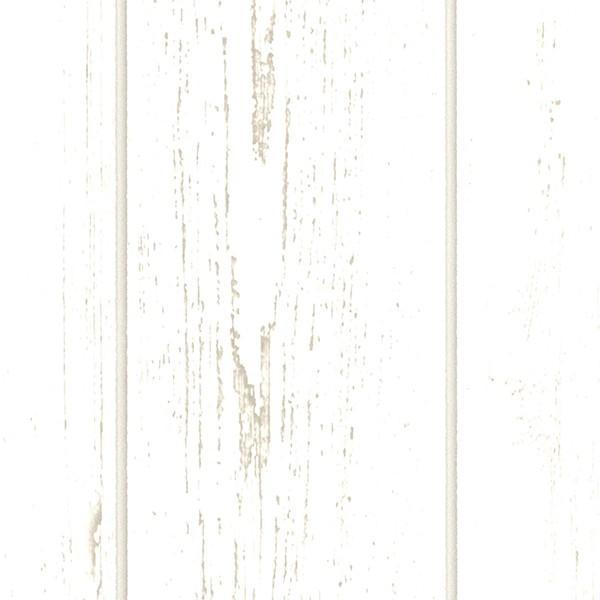 壁紙 シール壁紙 貼ってはがせる はがせる壁紙RILM 93cm幅オーダーカット 390 腰壁 木目柄ホワイトウッド 返品・交換不可 reform-myhome 03