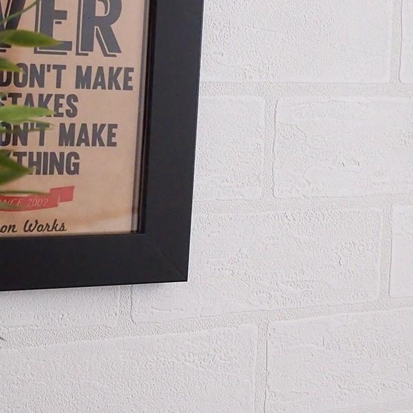 壁紙 シール壁紙 貼ってはがせる はがせる壁紙RILMベーシック 93cm幅オーダーカット 911 ホワイトレンガ 返品・交換不可|reform-myhome|02