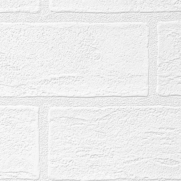 壁紙 シール壁紙 貼ってはがせる はがせる壁紙RILMベーシック 93cm幅オーダーカット 911 ホワイトレンガ 返品・交換不可|reform-myhome|04