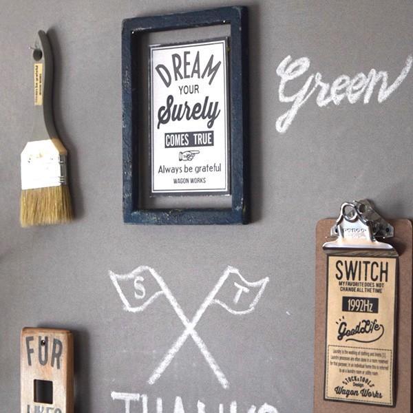 壁紙 シール壁紙 貼ってはがせる はがせる壁紙RILM 黒板シート壁紙 93cm幅オーダーカット b01 ベージュ 返品・交換不可 reform-myhome 03