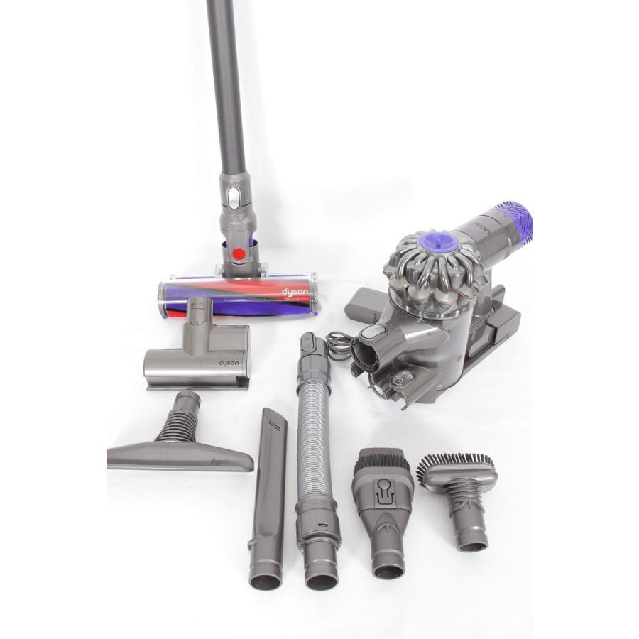 ダイソン V6 Fluffy+ SV09MHCOM コードレス スティッククリーナー 掃除機 refun