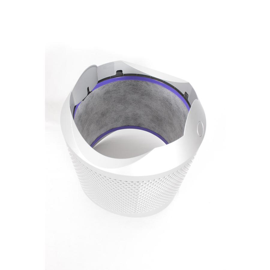 ダイソン Pure Hot + Cool HP01WS 空気清浄機能付きファンヒーター エアマルチプライアー ホワイト/シルバー refun 08