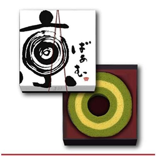 京ばあむ 3.5cm厚 品質保証 京都 和菓子 商い 抹茶と豆乳のバームクーヘン