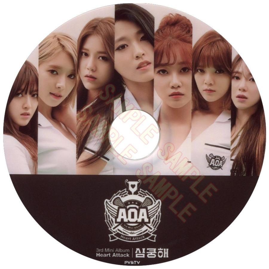 AOA エーオーエー Heart 感謝価格 Attack K-POP PVamp;TV 最安値 セレクション MUSIC