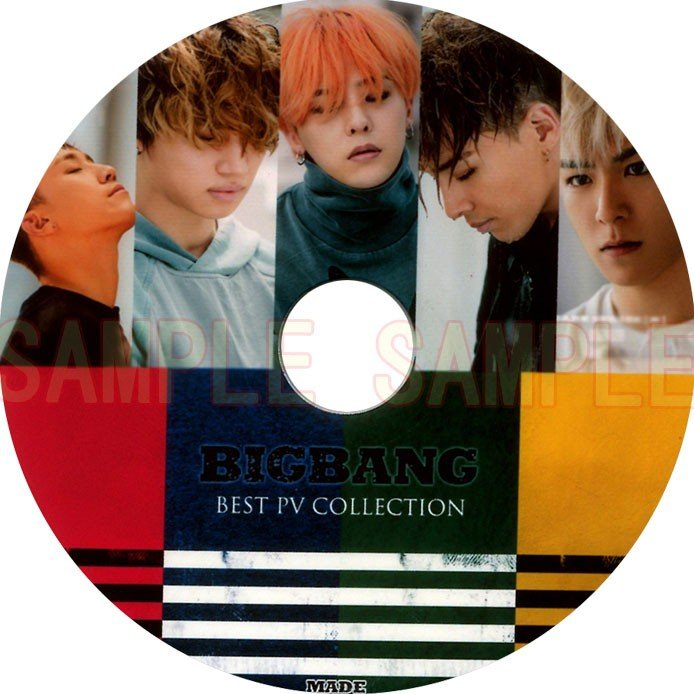 韓流DVD BIGBANG ビッグバン BEST PV 今季も再入荷 COLLECTION 新曲MADE T.O.P SOL D-LITE 再再販 G-DRAGON PV入り V.I