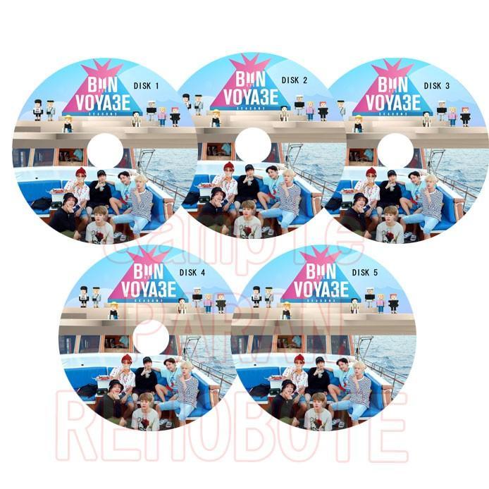 日本限定 韓流DVD BTS BONVOYAGE SEASON3 記念日 日本語字幕 5枚セット 完 防弾少年団