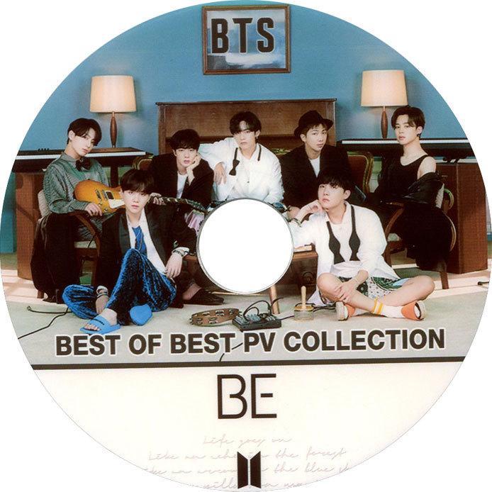 韓流DVD BTS 防弾少年団 2020 贈答 BEST お気に入 PV 2nd バンタン COLLECTION