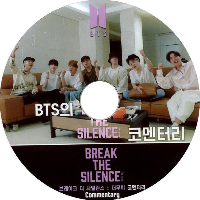 韓流DVD BTS 防弾少年団 BREAK THE SILENCE バンタン COMMENTARY 人気の定番 日本語字幕 時間指定不可