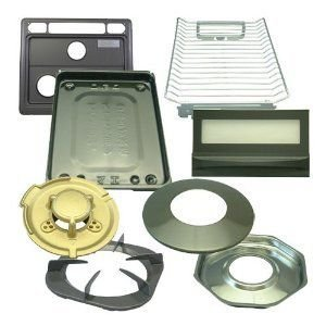 リンナイ ビルトインコンロ交換部品セット RSK-N38W3GB2X-B-L用