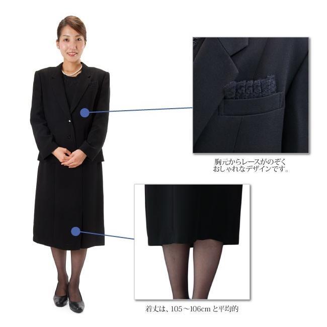 礼服レンタル、喪服レンタル (511) 授乳対応 ワンピースとジャケットのアンサンブル(おすすめ定番タイプ)|reifuku|03