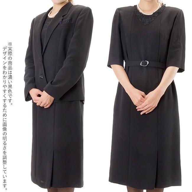 礼服レンタル、喪服レンタル (511) 授乳対応 ワンピースとジャケットのアンサンブル(おすすめ定番タイプ)|reifuku|05
