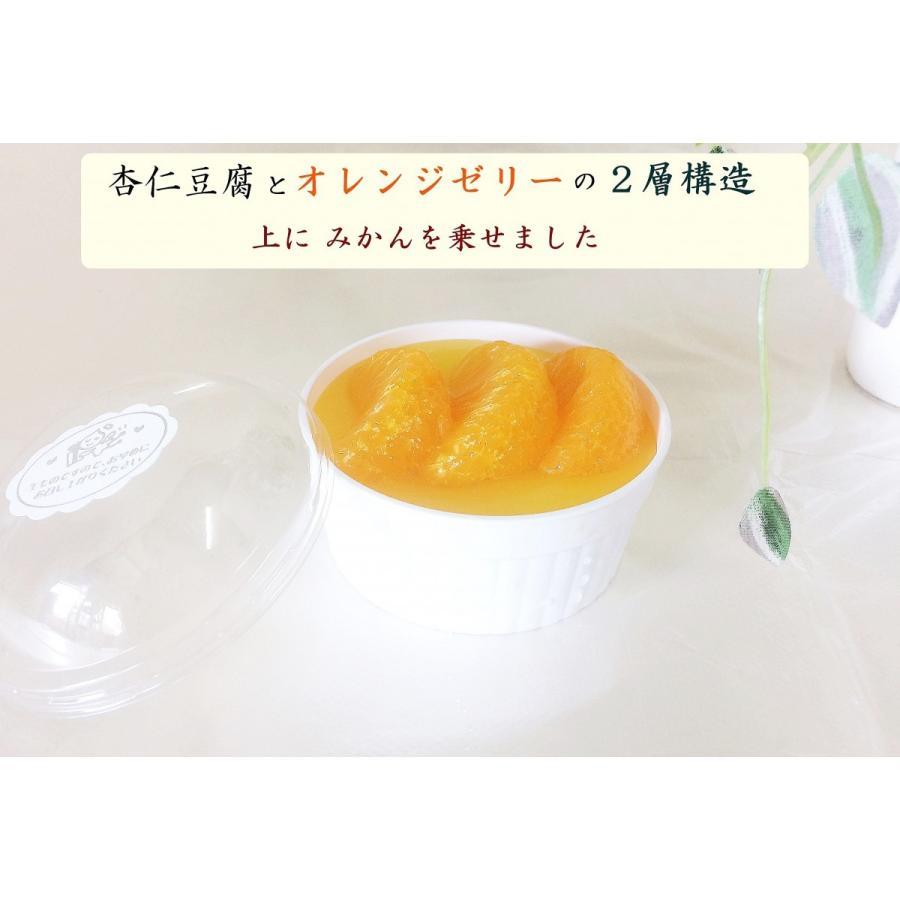 オリジナル杏仁豆腐☆彡(10個箱入り) reigetsu 02