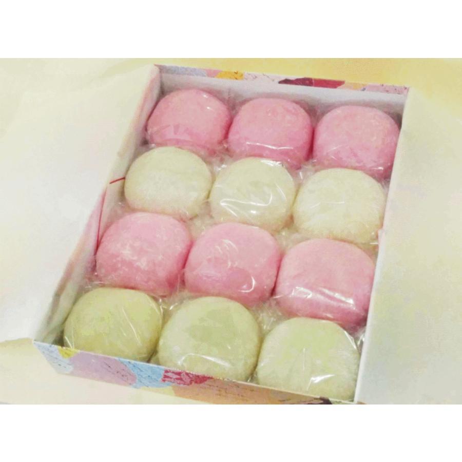 誕生餅☆彡 「 一升餅 (2kg) 」【 紅白12個入り 】国産コガネ餅! reigetsu 03