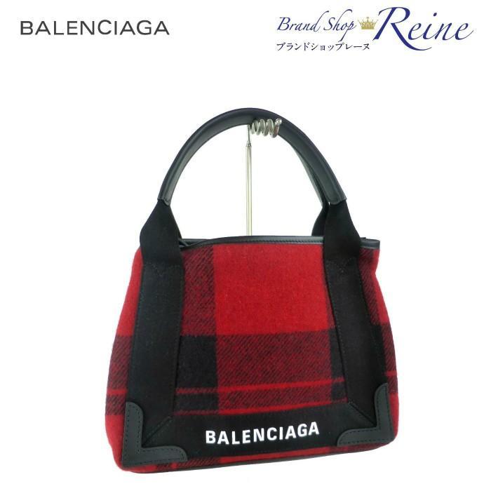 バレンシアガ(BALENCIAGA) NAVY CABAS XS ネイビーカバ 2way ハンド ショルダー トート 390346 新品