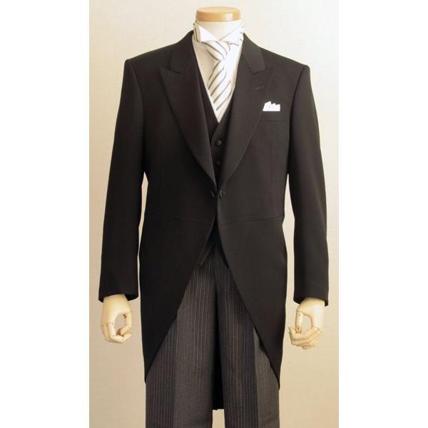 Y体 モーニングコート コールズボン付き ウールマーク 日本製 7700-401-Y|reisouclub