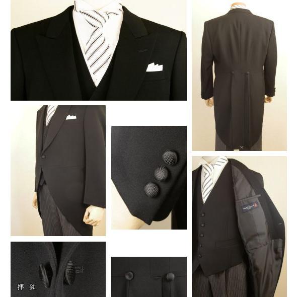 Y体 モーニングコート コールズボン付き ウールマーク 日本製 7700-401-Y|reisouclub|02