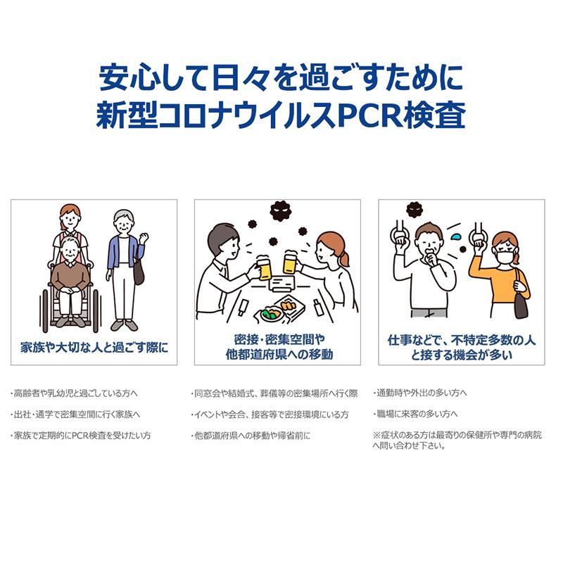 タイムセール!PCR検査キット コロナウイルス検査キット PCR検査 自宅で検査 セルフ検査 新型コロナ 唾液採取用 抗原検査 東亜産業 痛みなし 早い TOAMIT reiwa-cosme 06