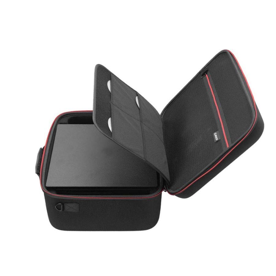 PS4 Pro ケース RLSOCO 全面保護収納バッグ PlayStation 4 /PlayStation 4 pro/ps4 本体 、 ps4コ