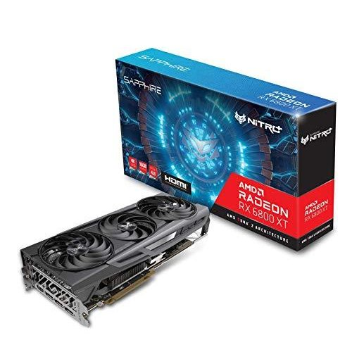 Sapphire 11304-02-20G Nitro+ AMD Radeon RX 6800 XT PCIe 4.0 ゲーミンググラフィックスカード