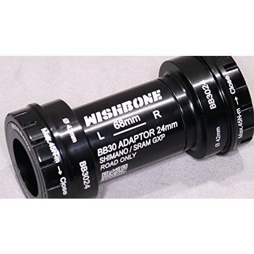 ウィッシュボーン BB3024 シマノホローテック2&スラムGXPクランク用