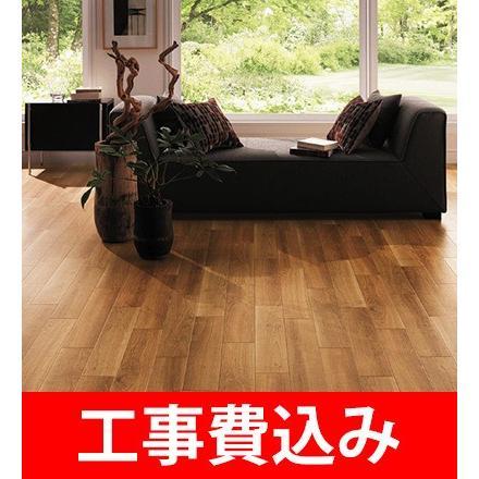 床リフォーム/クッションフロア張替え /12畳1室 /リフォーム /サンゲツ /リリカラ /シンコール / ペットに優しい床
